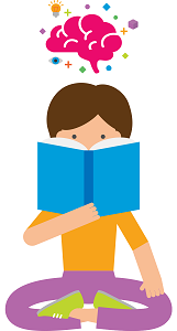 Brain clipart reading. The understanding how learners
