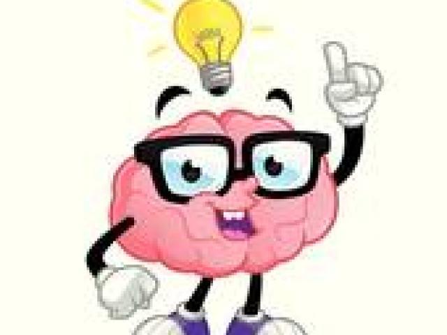 X free clip art. Clipart brain reading