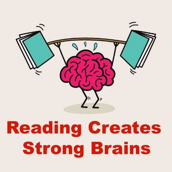best posters images. Brain clipart reading