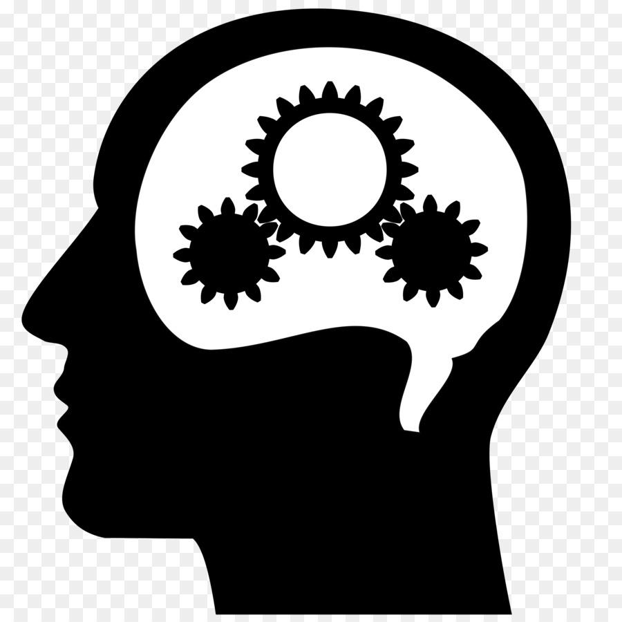 Clip art head png. Brain clipart silhouette