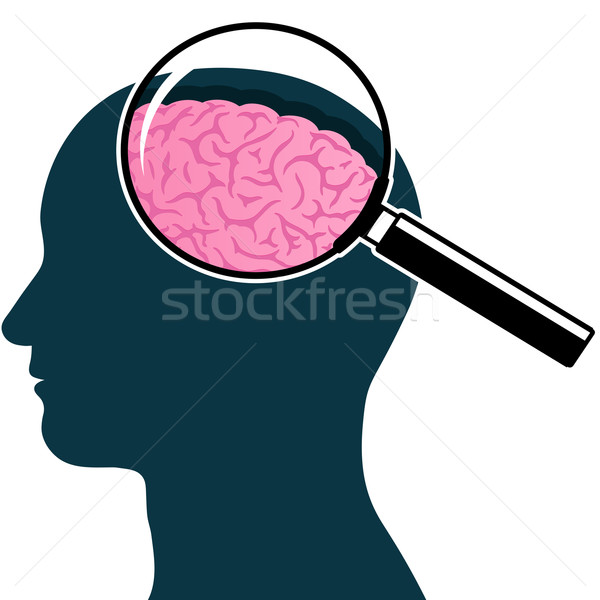 Of a at getdrawings. Brain clipart silhouette
