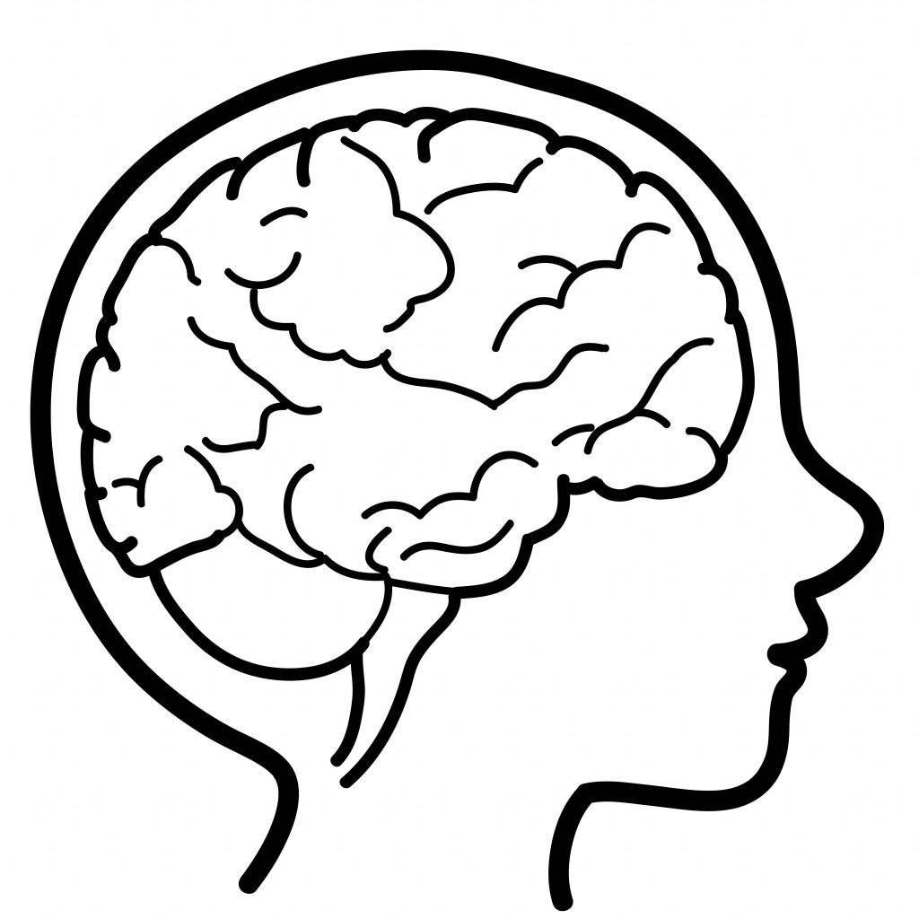 Brain clipart simple. Cute free download best