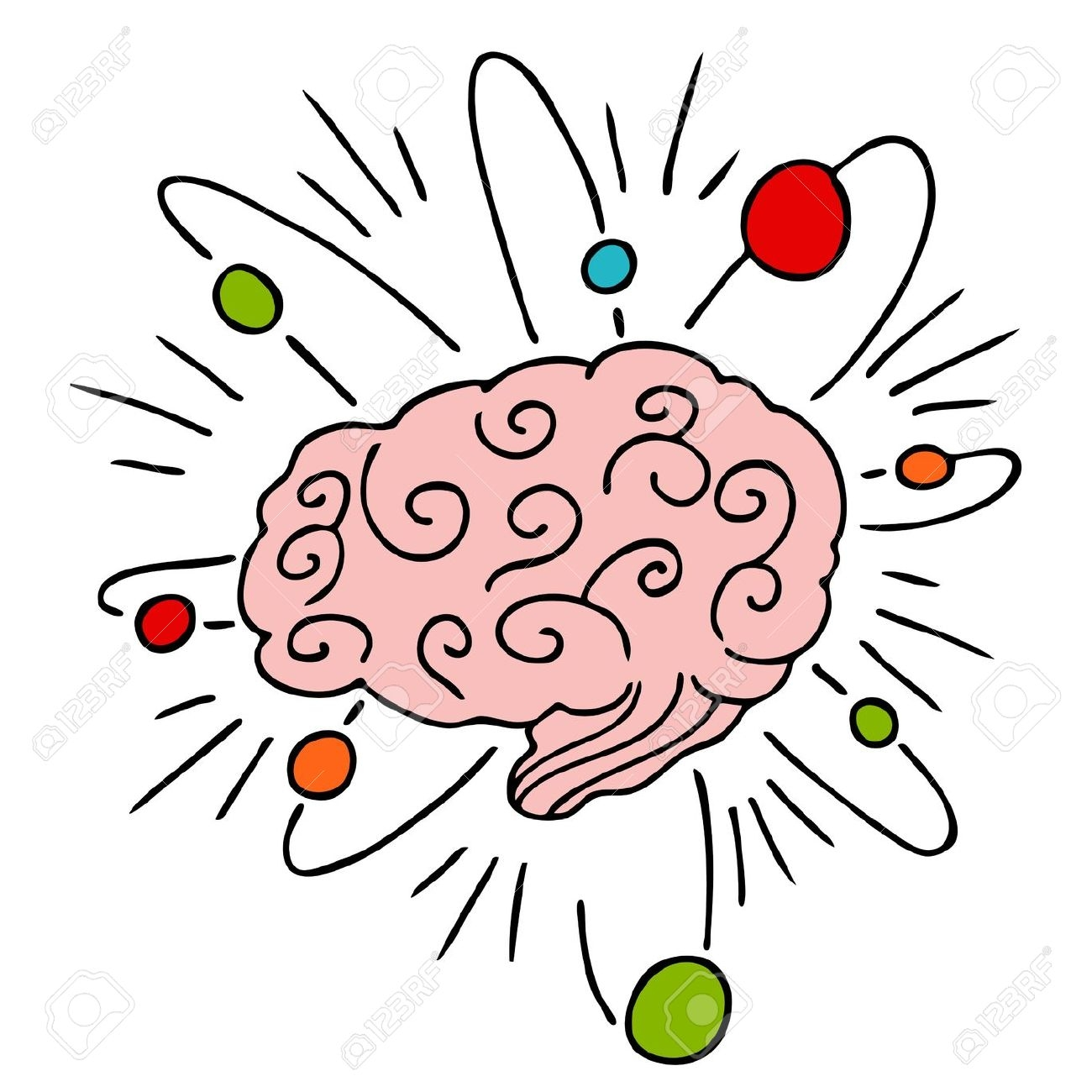 Brain clipart thinking. For kids station