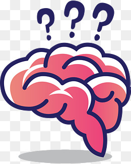 Png images vectors and. Brain clipart thinking