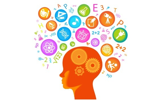 For kids station . Brain clipart thinking