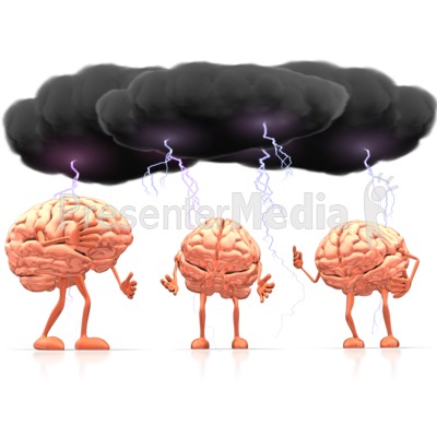 Brainstorm clipart brain. Signs and symbols great