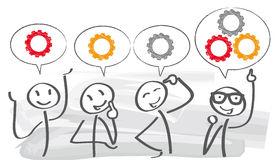 Brainstorm clipart idea. Homey ideas brainstorming stock