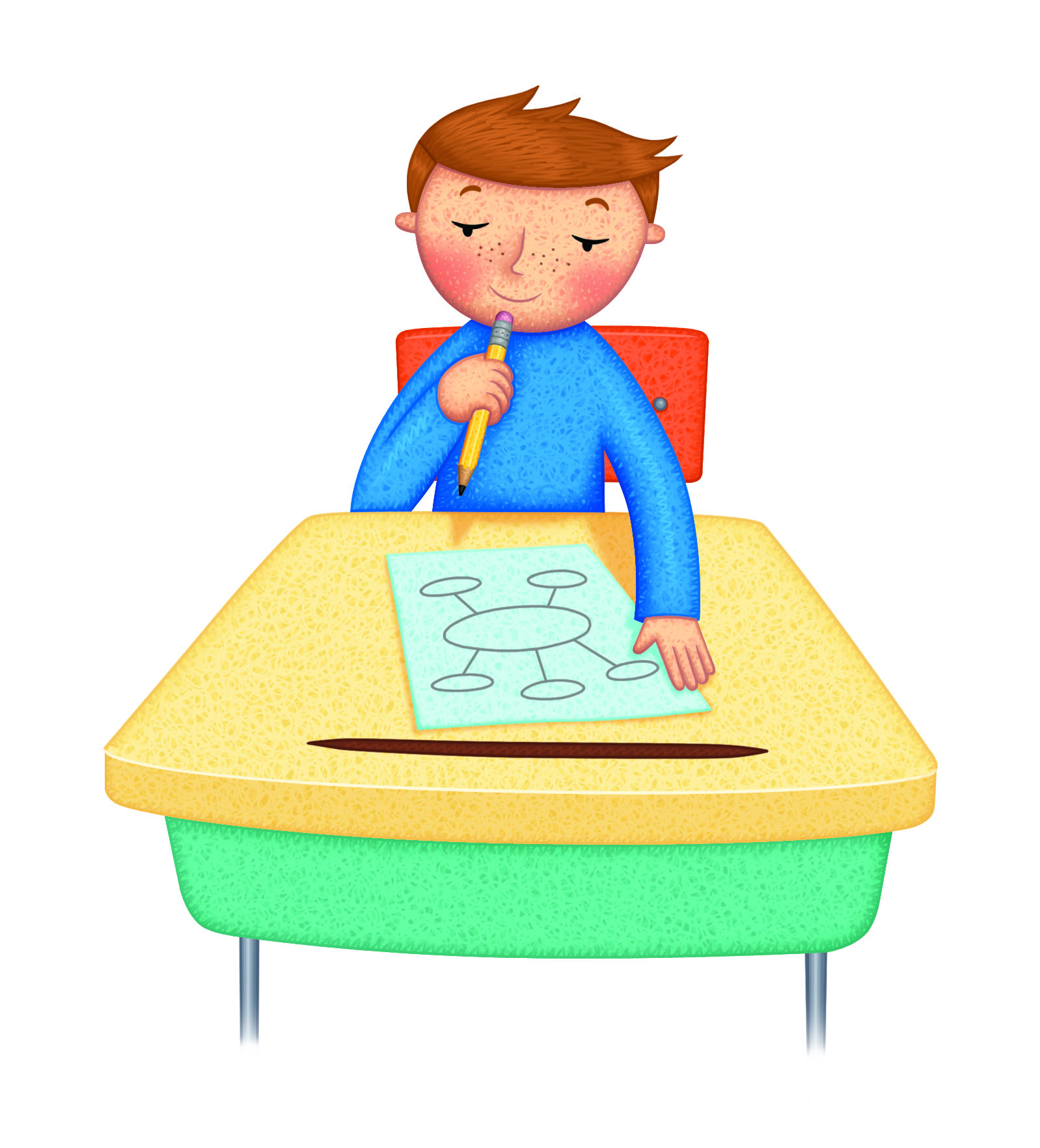 Brainstorm clipart kids. Learning styles flash talk