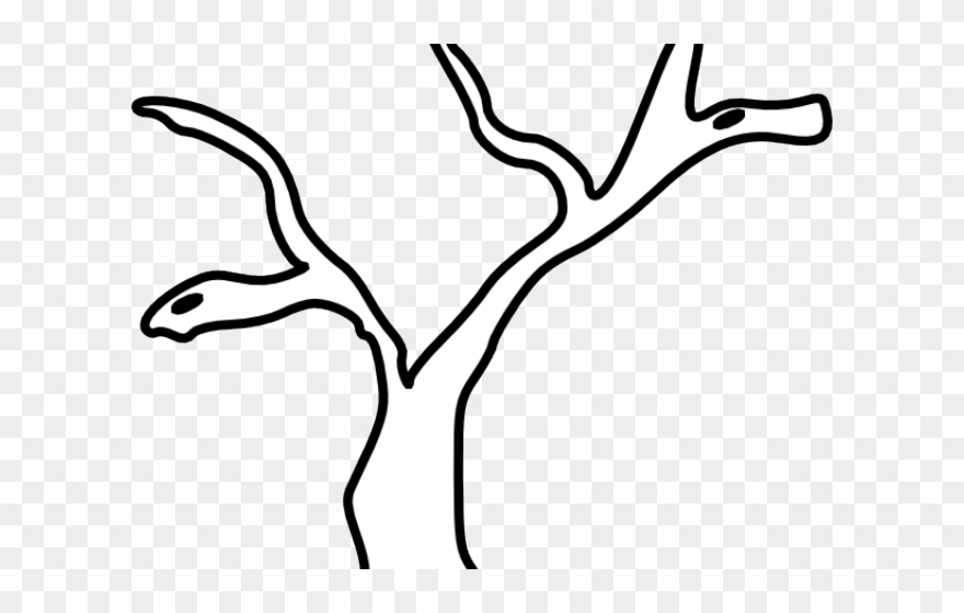 Branch clipart black and white. Trunk tree trunkclip art