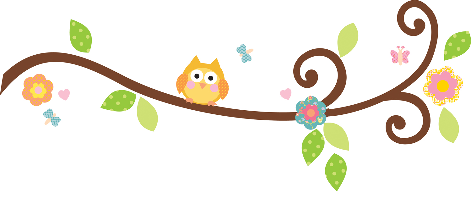 Cartoon tree branches library. Stick clipart branch