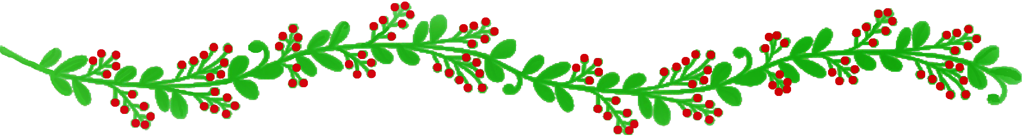The magic of rosemary. Harvest clipart divider