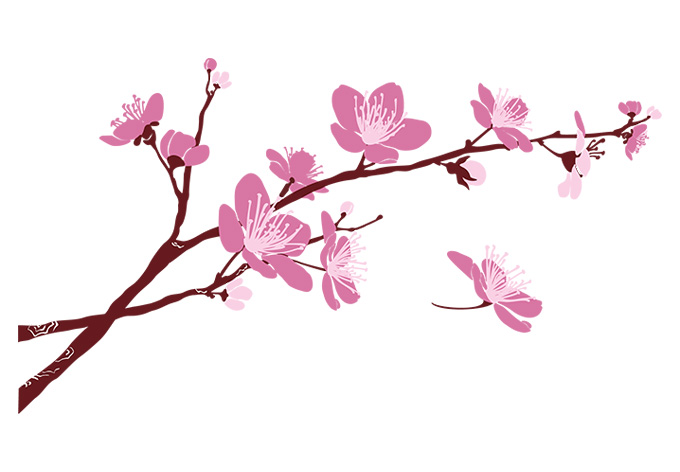 Floral clipart branch. Free flower branches cliparts