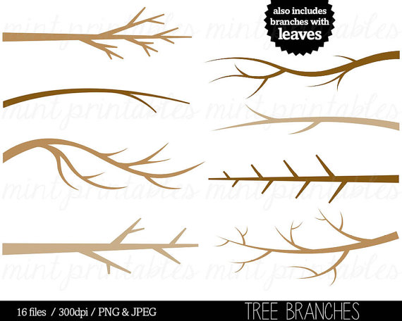 Tree clip art branches. Branch clipart font