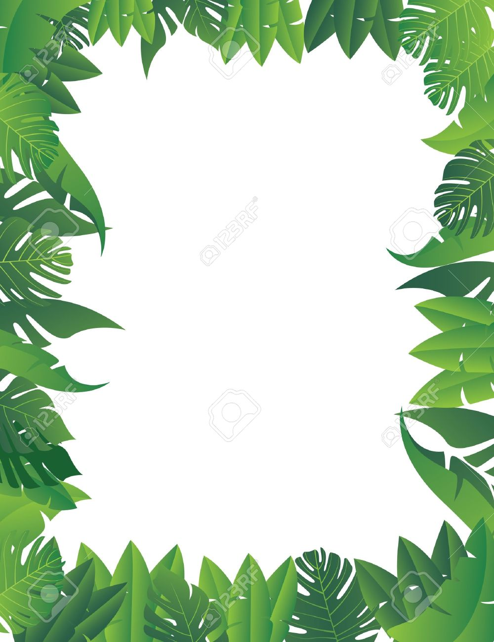 Branch clipart jungle. Leaves background station