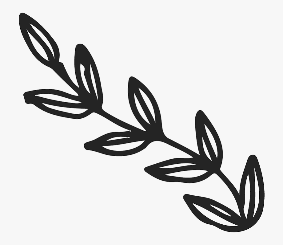 Bold leaves on rubber. Branch clipart leave clipart