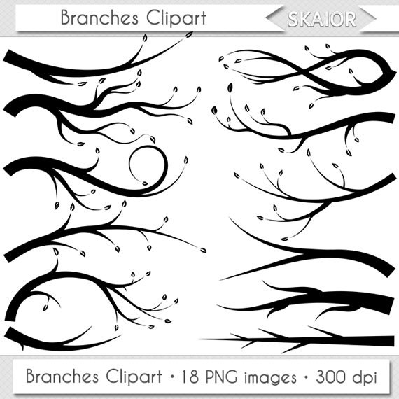Branch clipart line art. Branches vector clip tree