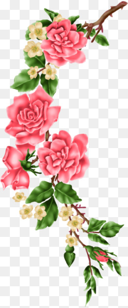Png vectors psd and. Clipart rose branch