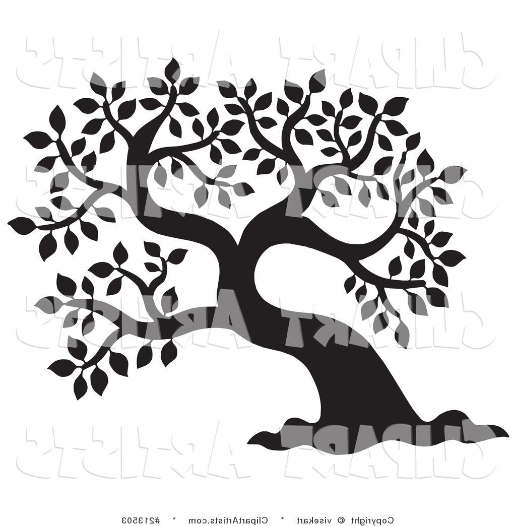 Tree silhouette drawing at. Branch clipart sanga