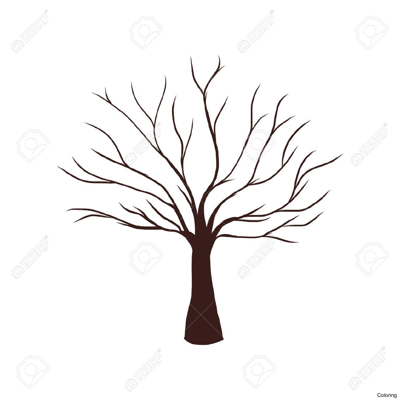 Dead plant drawing at. Branch clipart sanga