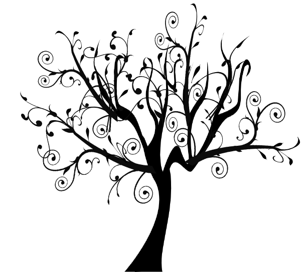 Vines clipart swirly. Branch vine swirl tree