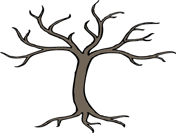 Branch clipart tree limb. Cartoon trees with branches