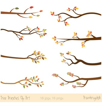 Tree branches autumn clip. Branch clipart wood branch