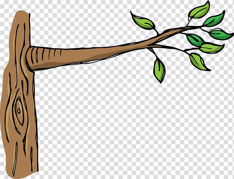 Branch clipart wood branch. Tree transparent background png