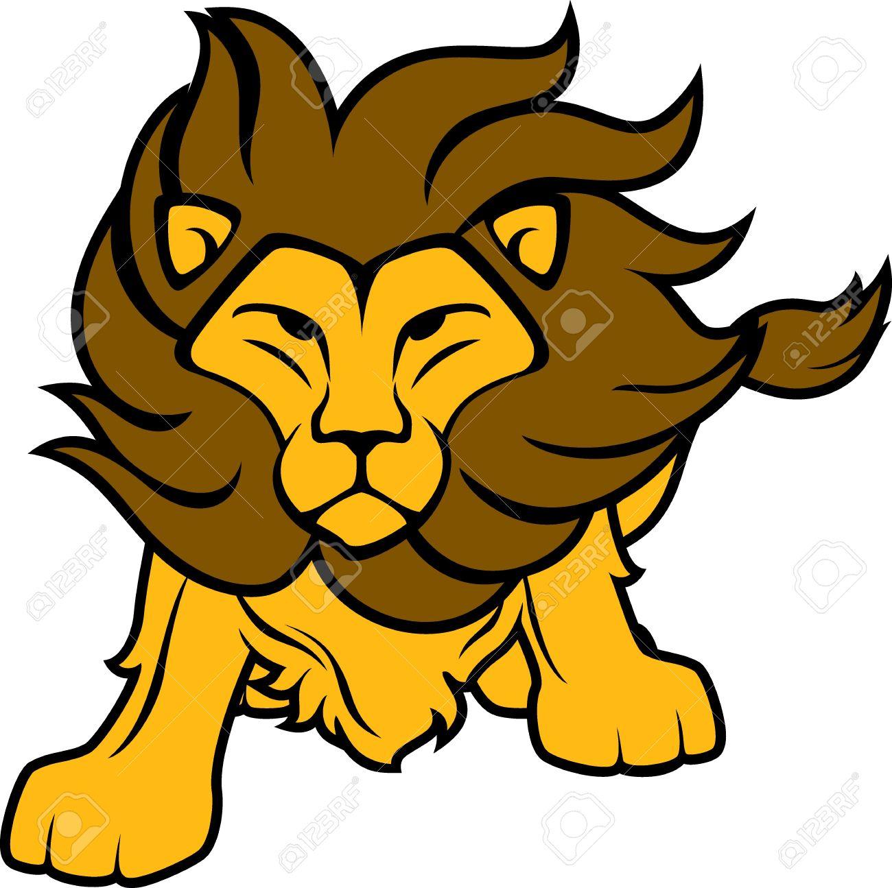 Brave brave lion