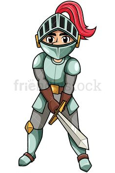 Bully clipart medieval. Brave warrior king holding