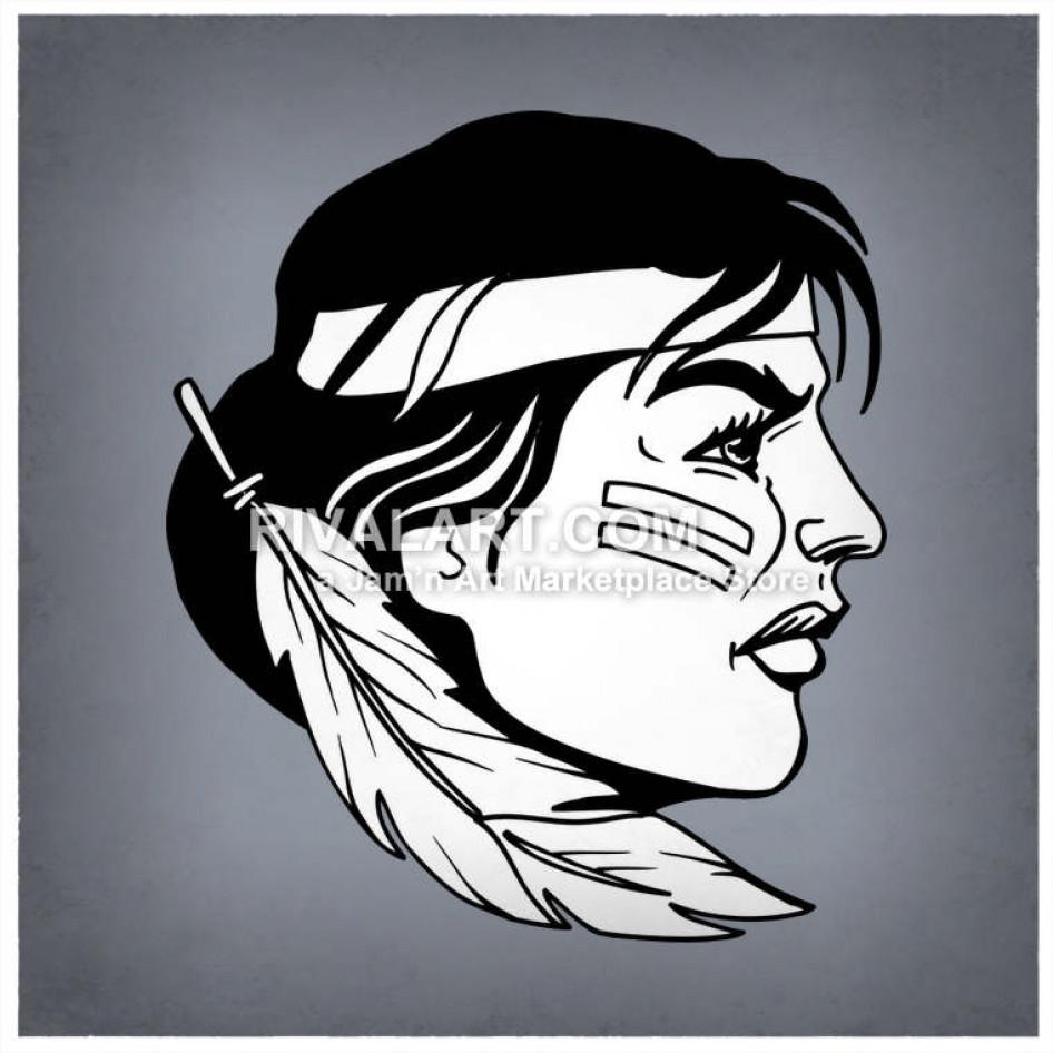. Brave clipart brave woman