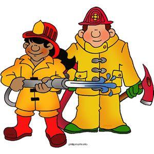 Fireman clipart brave. Fire fighter clip art