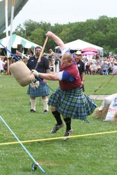 Learn how to toss. Brave clipart highland games scottish