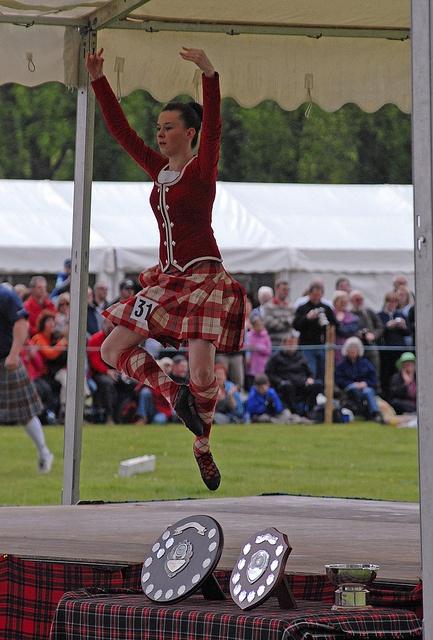 Brave clipart highland games scottish.  best red dress