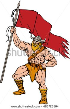 Cartoon chief chieftain front. Brave clipart soldier indian