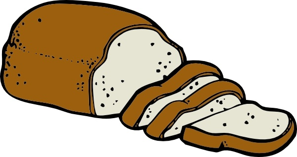Loaf of clip art. Clipart bread