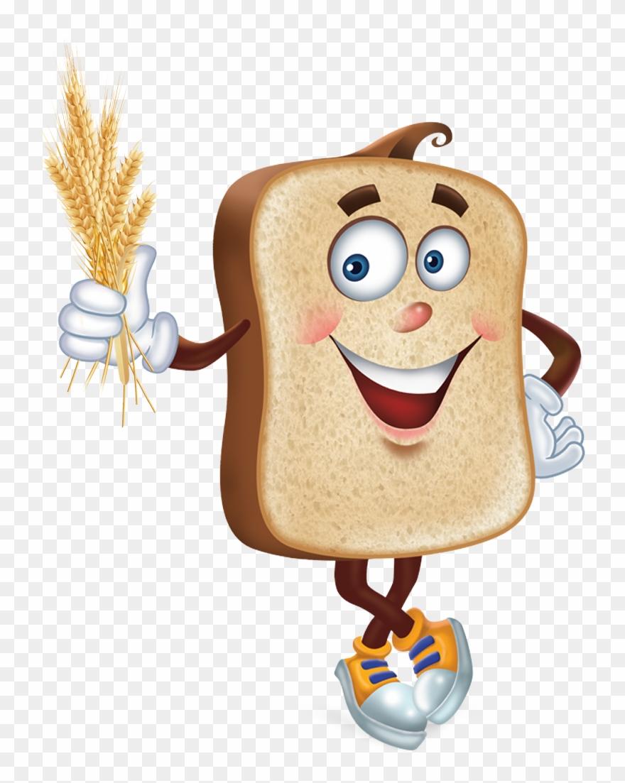 Fibre whole wheat bread. Grain clipart dietary fiber