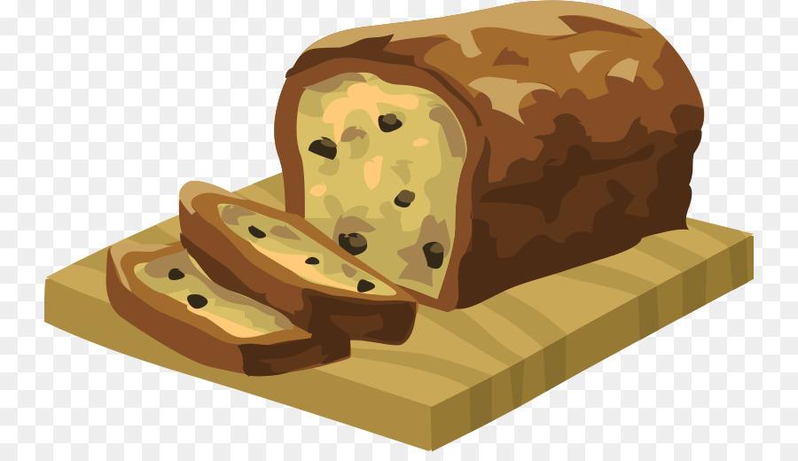 Bread clipart baked goods. Banana cake pumpkin potato