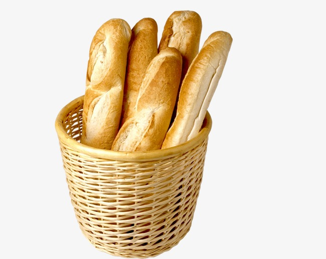 Bread clipart bread basket. A long strip food