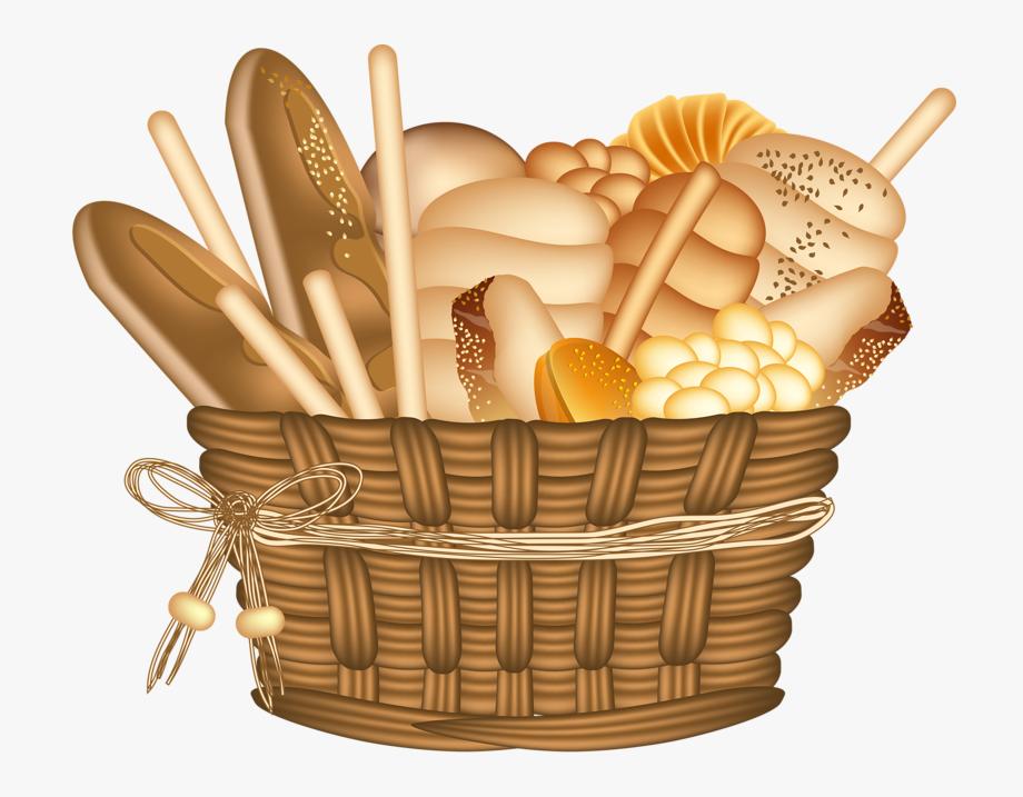 Bakery . Clipart bread bread basket