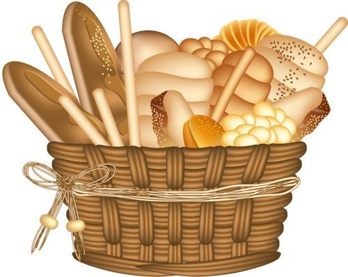 Bread clipart bread basket. Pin by candice kukard