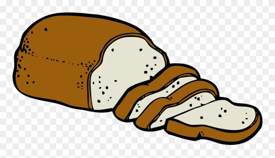 Bread clipart bread food. Free clip art png