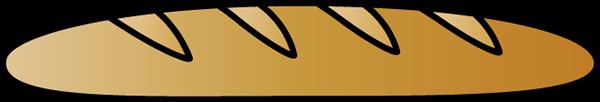 Bread clipart bread french. Clip art image