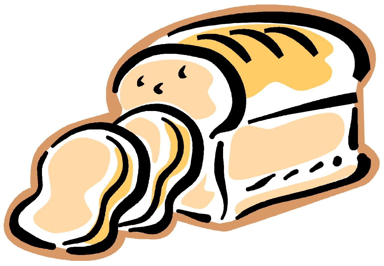 Bakery clipart cartoon. French bread clipartix