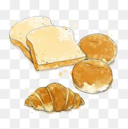 Bread clipart bread roll. Pineapple buns png vectors