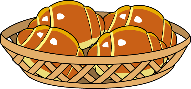 Clip art library . Bread clipart bread roll