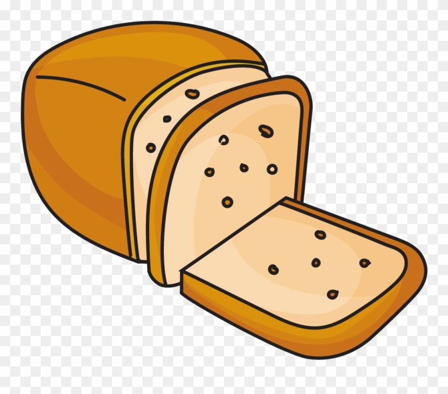 Clipart bread breakfast bread. Toast sliced bakery