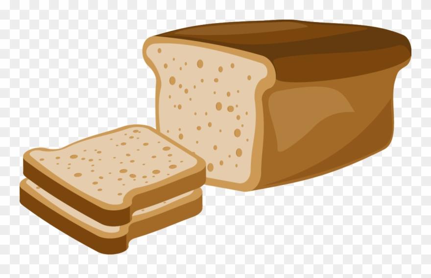 Toast rye white . Clipart bread breakfast bread
