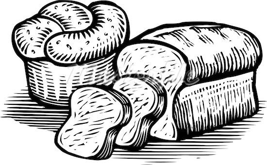 The top best blogs. Bakery clipart black and white