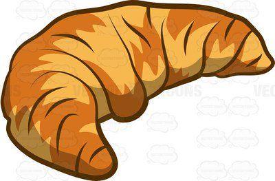 Unique croissant french images. Bread clipart cartoon