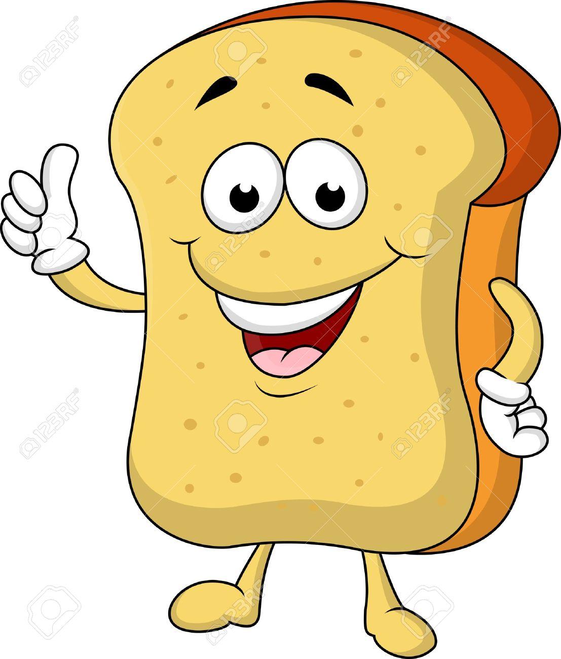 Bread clipart cartoon. Free download best